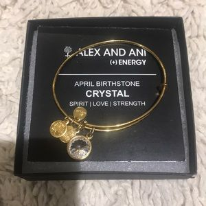 Alex & Ani April birthstone bracelet